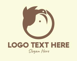 Monogram - Monogram Bird Pig logo design