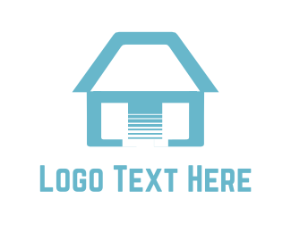 Realtor - Blue Home logo design