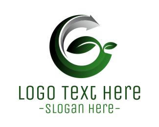 Branch - Modern Eco G logo design