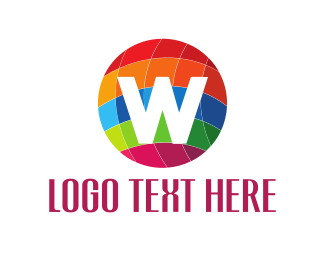 Woocommerce - Colorful Globe logo design
