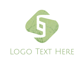Rotation - Green Chain logo design