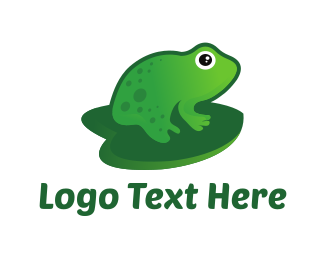 Frog - Pond Toad logo design