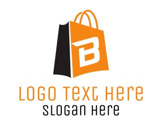 Retail - Shopping B Bag logo design