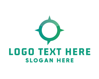 Venture Capital - Modern Navigation logo design