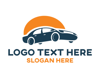 Car Dealership - Sunrise Car logo design
