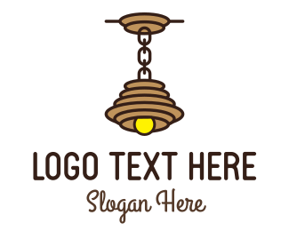 Lighting - Pendant Light logo design