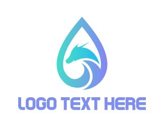 Dragon - Dragon Tears logo design