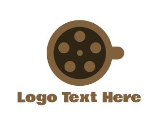 Coffee - Coffee Reel logo design