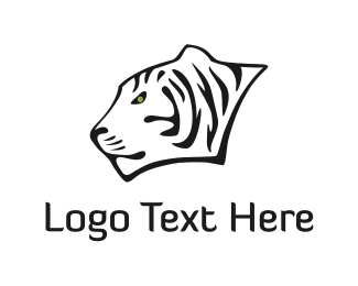 Tiger - White Tiger logo design