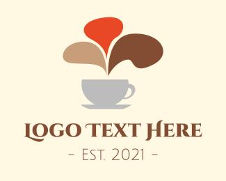 Communicate - Coffee Chat logo design