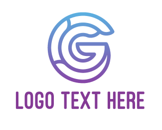 Business - Purple G logo design