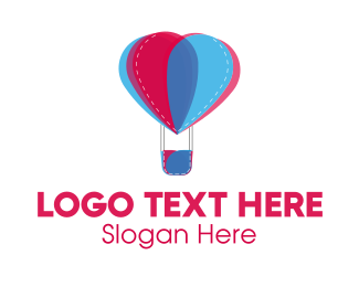 Balloon - Flower Balloon logo design