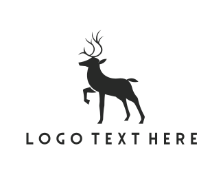 Hunting - Elegant Deer logo design