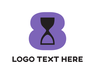 Purple Hourglass Logo