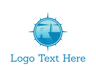 Lighthouse - Blue Bay logo design