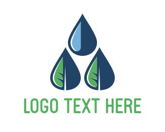 Number 3 - Eco Rain logo design