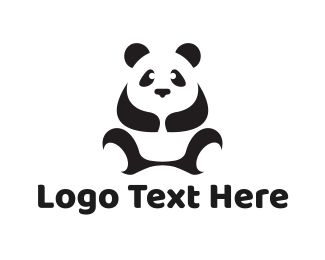 Chinese - Giant Panda logo design