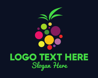 Colorful - Colorful Fruit logo design