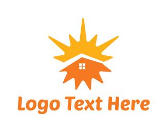 Sunny - Sunny Home logo design