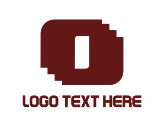 Geometric - Door & Stairs logo design