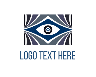Producer - Blue Eye logo design