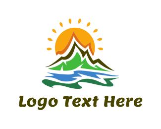 Funky - Funky Landscape logo design