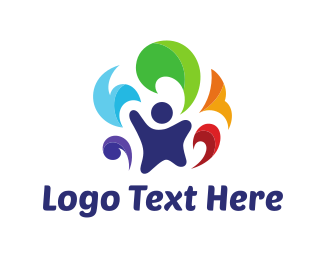 Colorful - Colorful Child logo design