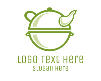 Antique - Green Antique Teapot logo design