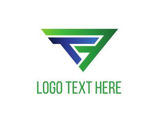 Letter F - T & F logo design