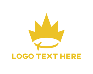 Tour - Travel Queen logo design