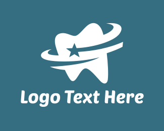 Tooth - Star Tooth logo design