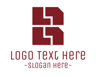 Brick - Brick Stacks B logo design