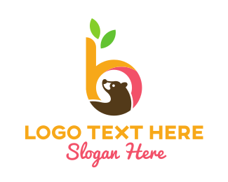 Bear - B & Bear logo design