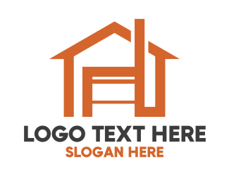 Roofing - Home Furniture logo design