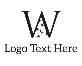 Dream - Magic W logo design