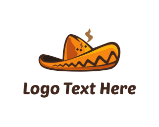 Mexican - Mexican Hat logo design