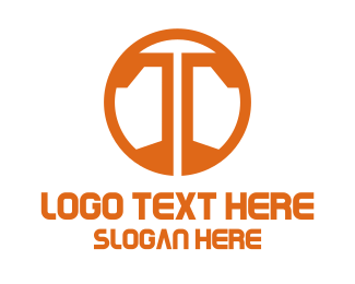 Symbol - Orange T Symbol logo design