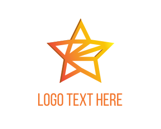 Bollywood - Golden Star logo design