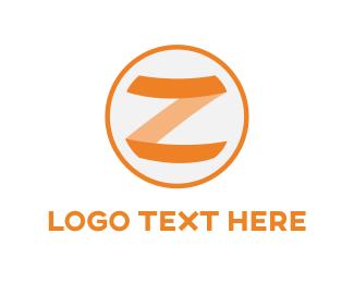 Letter Z - Z Circle logo design