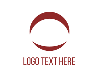 Loop - Moon Circle logo design