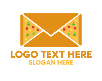 Pizza - Pizza Mail logo design