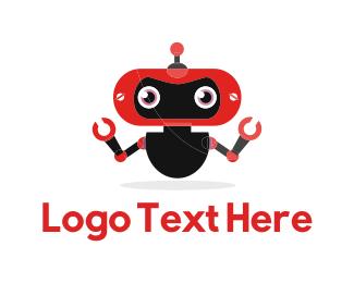 Red Robot Logo