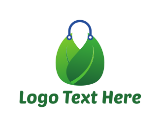 Handbag - Biodegradable Bag logo design