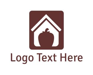Chili - Apple House logo design
