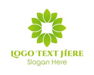 """Green Lotus Plant"" by eightyLOGOS"