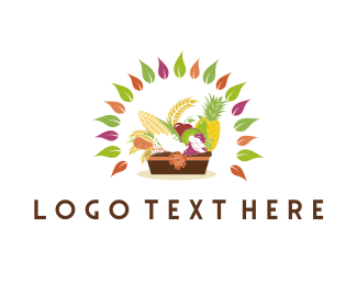 Fruit & Vegetable Basket Logo