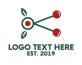 Branch - Cherry Branch logo design
