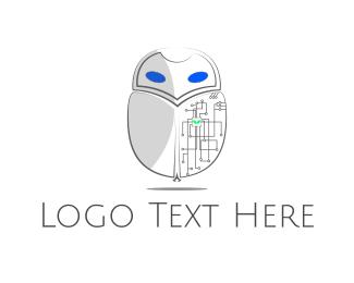 Beetle - Circuit Bug logo design