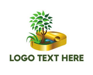 Root - Nature Conservation logo design