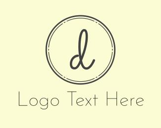 Letter D - Stramp Letter D  logo design
